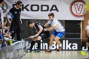 Superliga florbalu, 1. zápas semifinále: Technology Mladá Boleslav - Chodov