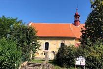 Kostel sv. Štěpána v Řitonicích.