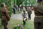 Uctění památky padlých na Novém hřbitově v Mladé Boleslavi.