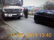 Policisté vážili auta