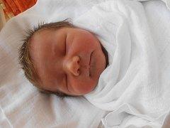 HONZÍK Bláha se narodil 19. května. Vážil 3,4 kilogramů a měřil 49 centimetrů. S maminkou Denisou a tatínkem Jiřím bude bydlet v Mladé Boleslavi.