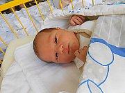 David Mynařík se narodil 29. září, vážil 3,61 kg a měřil 51 cm. S maminkou Marcelou a tatínkem Martinem bude bydlet v Dubé, kde už se na něho těší sestřička Magdalenka.