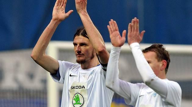 Radost fotbalistů Boleslavi z postupu přes Plzeň