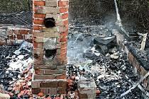 Požáry způsobené dopadeným žhářem.