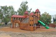 Replika mladoboleslavského hradu v Novém parku