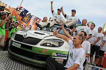 Škoda Motorsport v cíli Rally Croatia