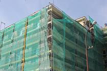 Zateplení budovy školy. Ilustrační foto.