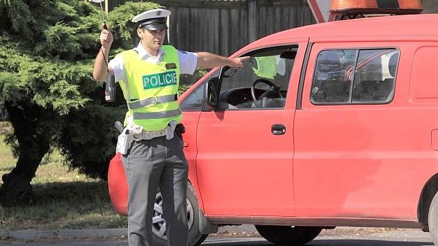Ilustrační foto - silniční kontrola
