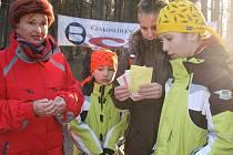Na Silvestra se v parku Štěpánka sešly stovky běžců.