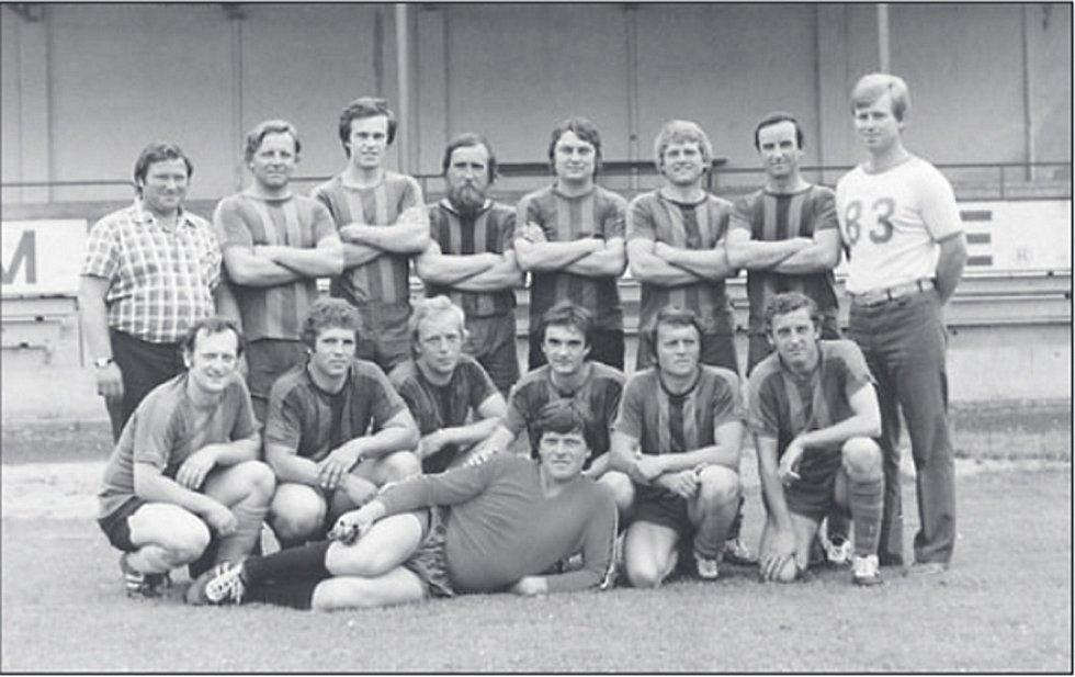 Vítěz okresního přeboru v sezoně 1981/1982. Legendární tým SK Benátky nad Jizerou.