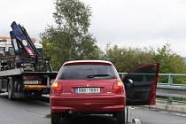 Havárie na R10 zkomplikovala provoz