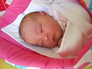 Izabela Daňková přišla na svět 12. listopadu s mírami 3,63 kg a 49 cm. Maminka Denisa a tatínek Vít si ji odvezou domů do Bakova nad Jizerou.