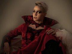 S tímto makeupem se Lucie Soumarová probojovala do finále prestižní soutěže