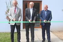 Z otevření nového zahradnického domku v Horkách.