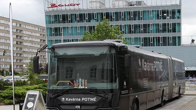 Kavárna POTMĚ poprvé zavítala do Mladé Boleslavi