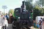 V Bakově oslavili výročí 150 let od zahájení provozu na kralupsko-turnovské trati