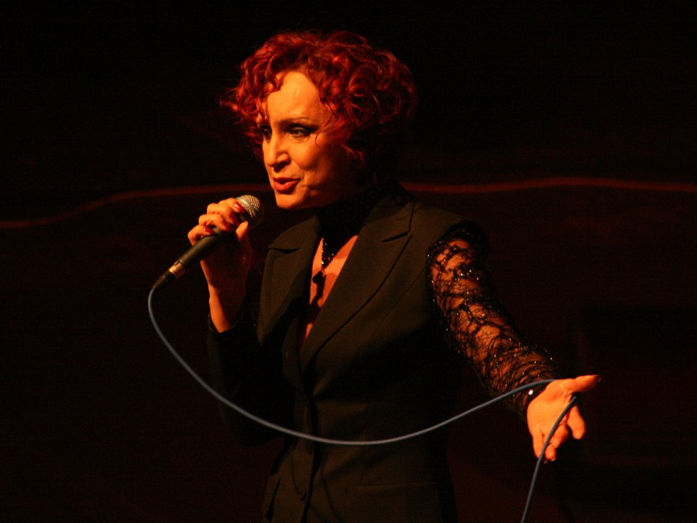 Tanečníky večer bavila i známá zpěvačka Petra Janů.