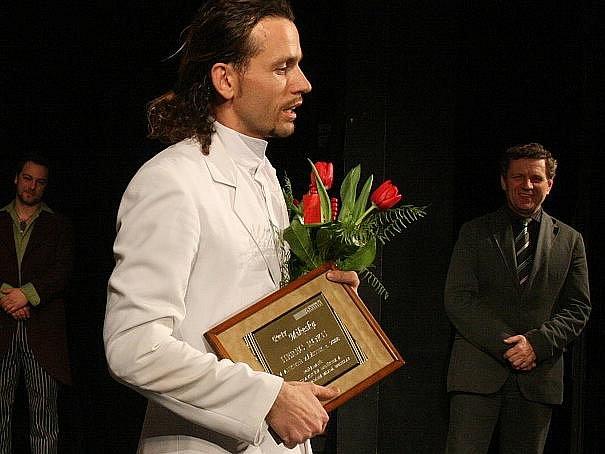 Petr Mikeska získal ocenění Herec roku 2008.