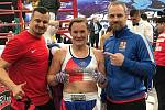 Kickboxerka Lucie Mlejnková z Moravan u Brna opět získala světový titul.
