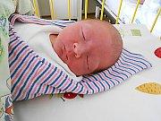 Matyáš Vyhnánek se narodil 17. září, vážil 3,5 kg a měřil 52 cm. S maminkou Petrou a tatínkem Miloslavem bude bydlet v Mladé Boleslavi.