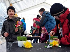 Vítání jara v Bakově
