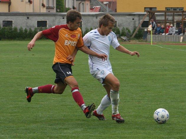 Ze zápasu ČFL FK Mladá Boleslav - SK Hlavice