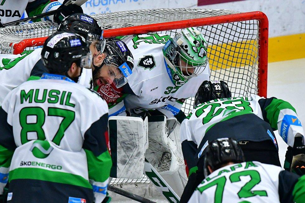 43. kolo hokejové Tipsport extraligy: BK Mladá Boleslav - HC Kometa Brno 1:2 pp.