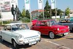 Do Mladé Boleslavi dorazilo několik vozů 1000 a 1100 MBX.