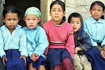 Nepálské děti