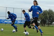 Dopolední trénink FK Mladá Boleslav na soustředění v Turecku