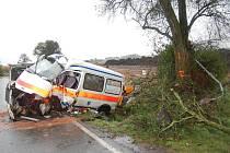 Vážná nehoda u Kosořic.