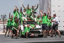 Tovární posádky Škodovky opanovaly italskou Rallye Sardegna.