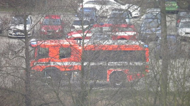 Železniční nehoda v Mladé Boleslavi