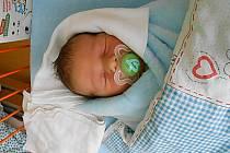 Dominik Čupík se narodil 10. prosince, vážil 3,66 kg a měřil 51 cm. S maminkou Veronikou a tatínkem Vladimírem bude bydlet v Krpech, kde už se na něho těší sourozenci Markétka a Daneček.