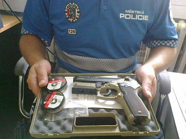 Zbraň. Ilustrační foto
