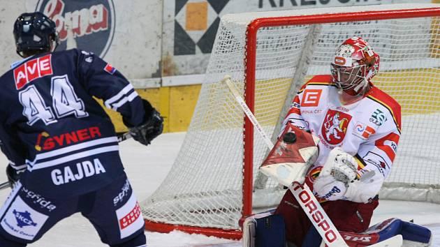 1. hokejová liga: Hradec Králové - Benátky nad Jizerou