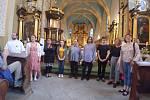 Z Noci kostelů ve Bělé pod Bezdězem