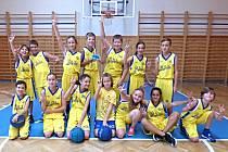 Družstvo U12mix na turnaji Šmoulinky v Roudnici nad Labem