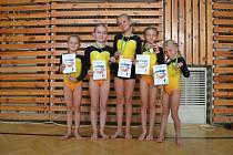 Gymnastky z Benátek se zúčastnily závodů ve Vrchlabí