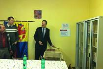Robin Povšík zahájil přestavbu obecního úřadu.