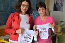 Speciální bodýčka pro nedonošené děti v Klaudiánově nemocnici v Mladé Boleslavi.
