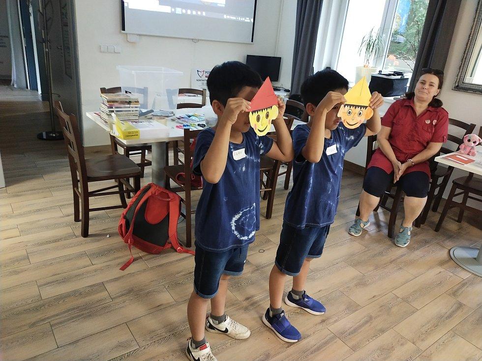 V boleslavské Klementince běží kemp pro děti cizinců