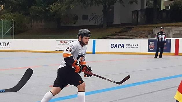 Hokejbalista a mistr světa Marcel Malina.