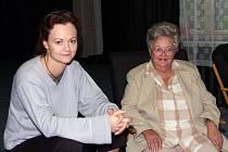 Lucie Matoušková s maminkou Danou Hlaváčovou.