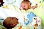 Emma a Nikol Mrkvičkovy jsou hned dvojitým štěstím Dagmary a Pavla z Debře. Dvojčátka tak rozšíří rodinu, v níž bude jejich starší sestrou malá Denisa.