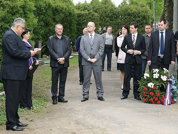 Uctění památky padlých v Mladé Boleslavi