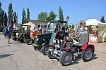 V Košíku u Mladé Boleslavi se konala traktoriáda a sraz historických traktorů.
