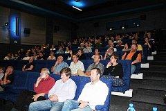 BESEDA o návrhu rozvoje přilehlých ploch hradišťského zámku zaplnila ve čtvrtek téměř celé kino.