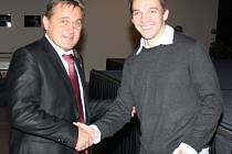 Prezident FK Mladá Boleslav a hokejista BK Mladá Boleslav Radim Vrbata.