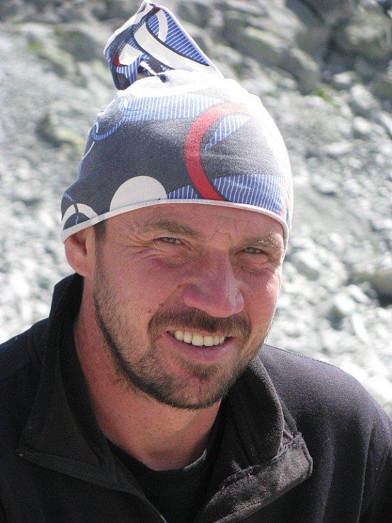 Mladoboleslavský horolezec Petr Mašek.